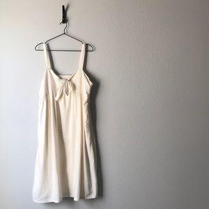 Who What Wear Linen blend dress